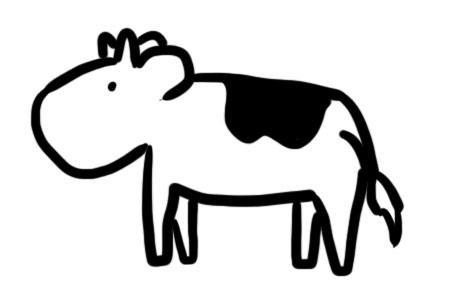 Brandmalerei Vorlage Kuh