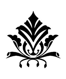 Brandmalerei Ornamente Motive