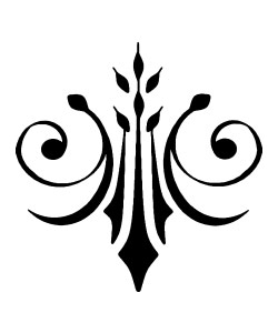 Brandmalerei Ornamente PDF Vorlage