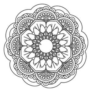 Brandmalerei Motive Mandala