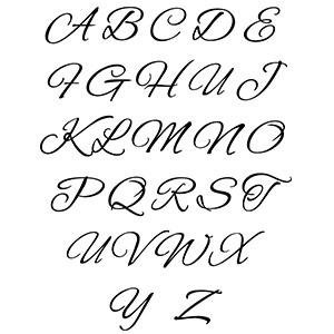 Brandmalerei Motive Buchstaben